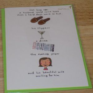 Papyrus Father's Day Card From Wife